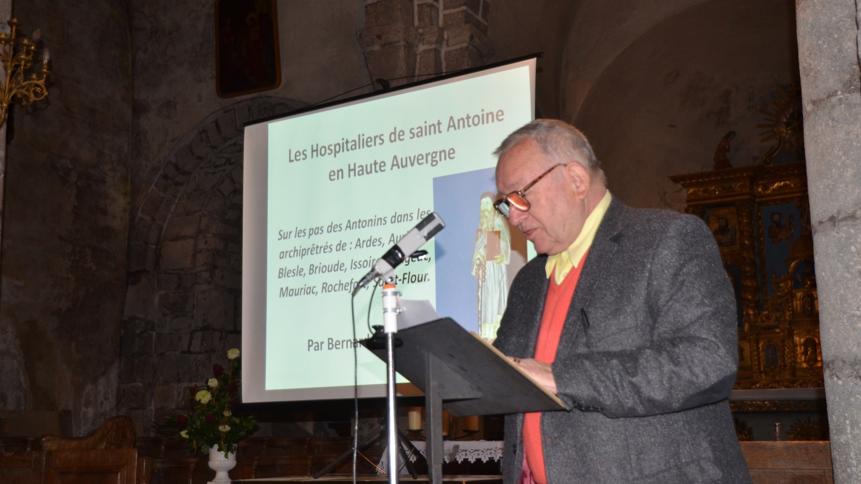 Sortie du livre sur «les Hospitaliers de Saint Antoine en Haute Auvergne»